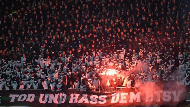 Immer wieder werden die Derbys zwischen Hannover und Braunschweig von Ausschreitungen überschattet