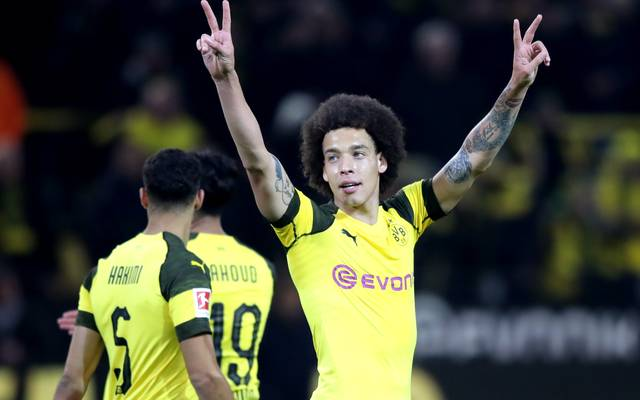 Axel Witsel kam im Sommer von Tianjin Quanjian zu Borussia Dortmund