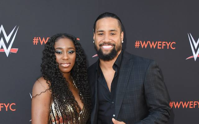 Die WWE-Stars Naomi and Jimmy Uso sind seit 2014 verheiratet