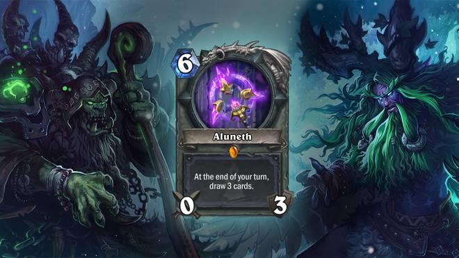 """Werden Karten benötigt? Kein Problem! """"Aluneth"""" hilft dabei, die Hand schnell mit Karten zu füllen"""