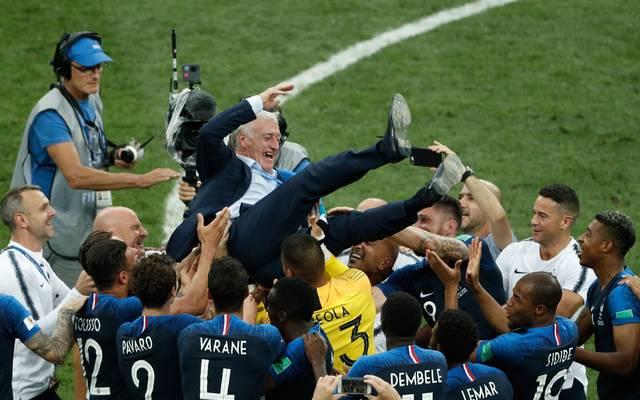 Wm 2018 Frankreich Weltmeister Nach 4 2 Gegen Kroatien