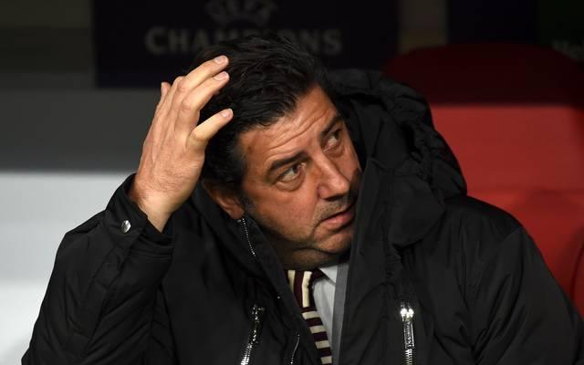 Rui Vitoria ist nicht länger Trainer von Benfica Lissabon