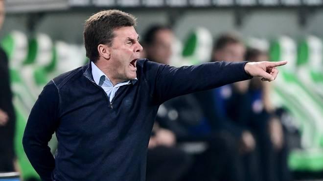 Dieter Hecking hofft gegen Hannover auf einen Sieg