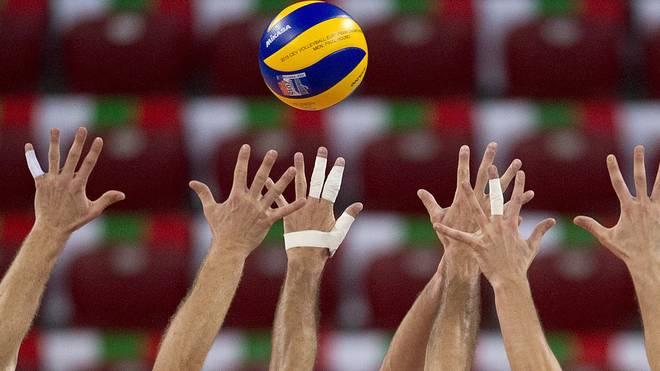 Volleyball (Symbolbild)