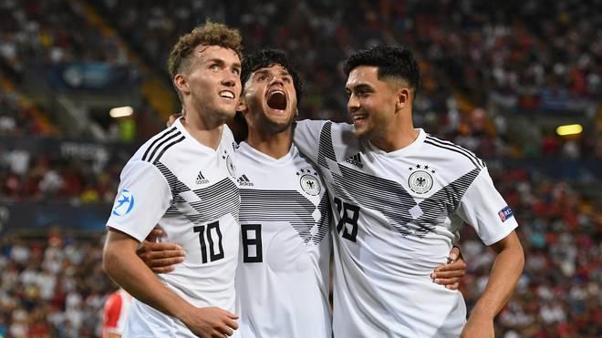 Die deutsche U21 kämpft bei der UEFA EM 2019 gegen Rumänien um den Einzug ins Finale