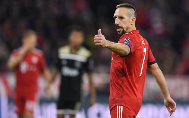 Franck Ribéry fordert Verstärkungen vom FC Bayern