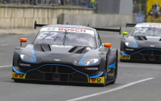 Bei Aston Martin ist man mit dem bisher in der DTM erreichten zufrieden