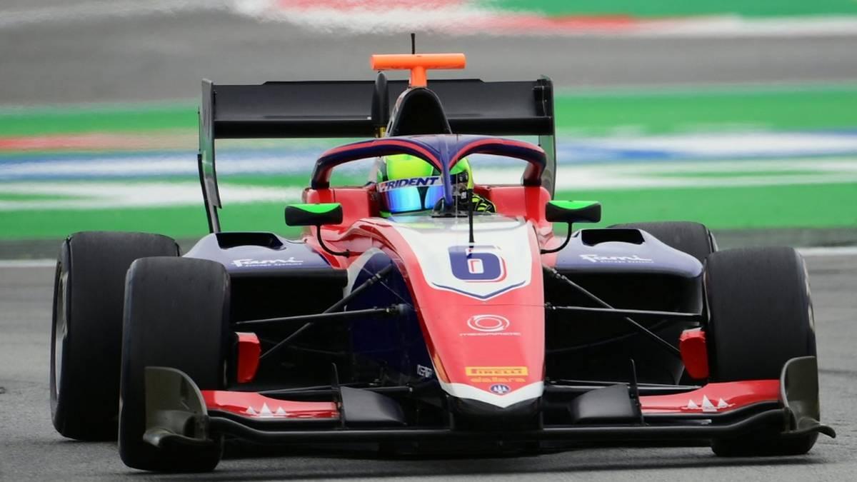 David Schumacher feierte vor kurzem seinen ersten Sieg