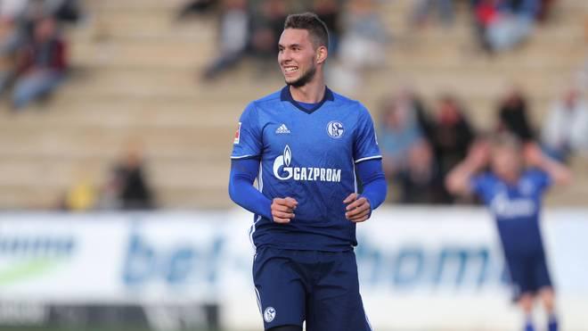 Marko Pjaca traf in seinem ersten Spiel für Schalke 04