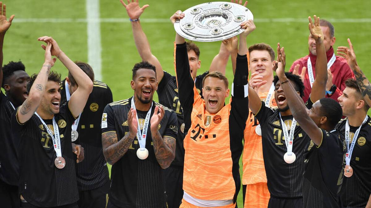 Der FC Bayern will zum zehnten Mal in Serie Meister werden