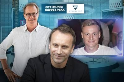Sebastian Schindzielorz und Felix Kroos sind zu Gast im STAHLWERK Doppelpass auf SPORT1 - Deutschlands beliebtester Fußballtalk spricht über alle wichtigen Themen der Bundesliga!