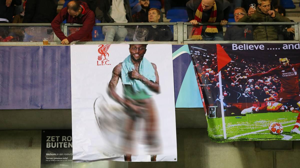 Liverpool-Star mit obszönem Banner rassistisch beleidigt