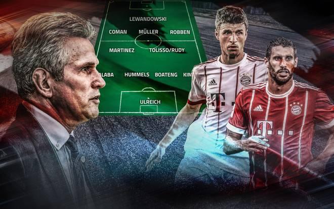 Jupp Heynckes vertraut auf die Stärken von Thomas Müller und Javi Martinez