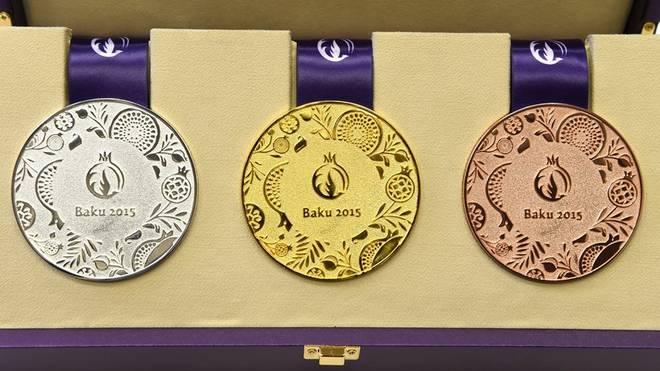 Medaillen Baku