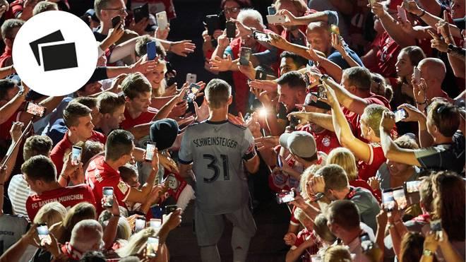 Bastian Schweinsteiger erlebte seine beste Zeit beim FC Bayern