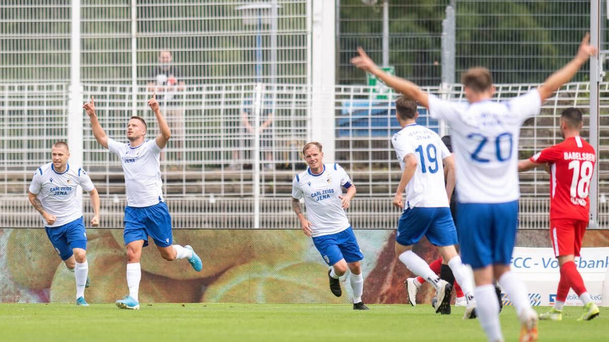 Tag der Amateure: Jena erspielt sich Duell mit Werder