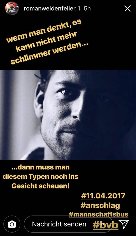 Roman Weidenfeller gab sich am Tag seiner Aussage zum BVB-Anschlag nachdenklich