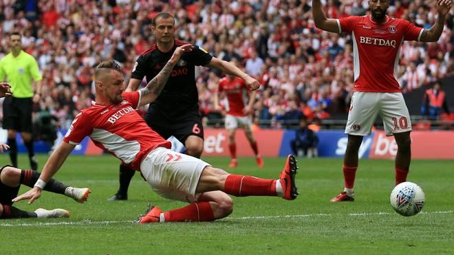 Patrick Bauer erzielte das entscheidende Tor für Charlton Athletic