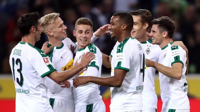 Borussia Mönchengladbach kann  mit einem Sieg gegen Düsseldorf auf Tabellenplatz zwei klettern