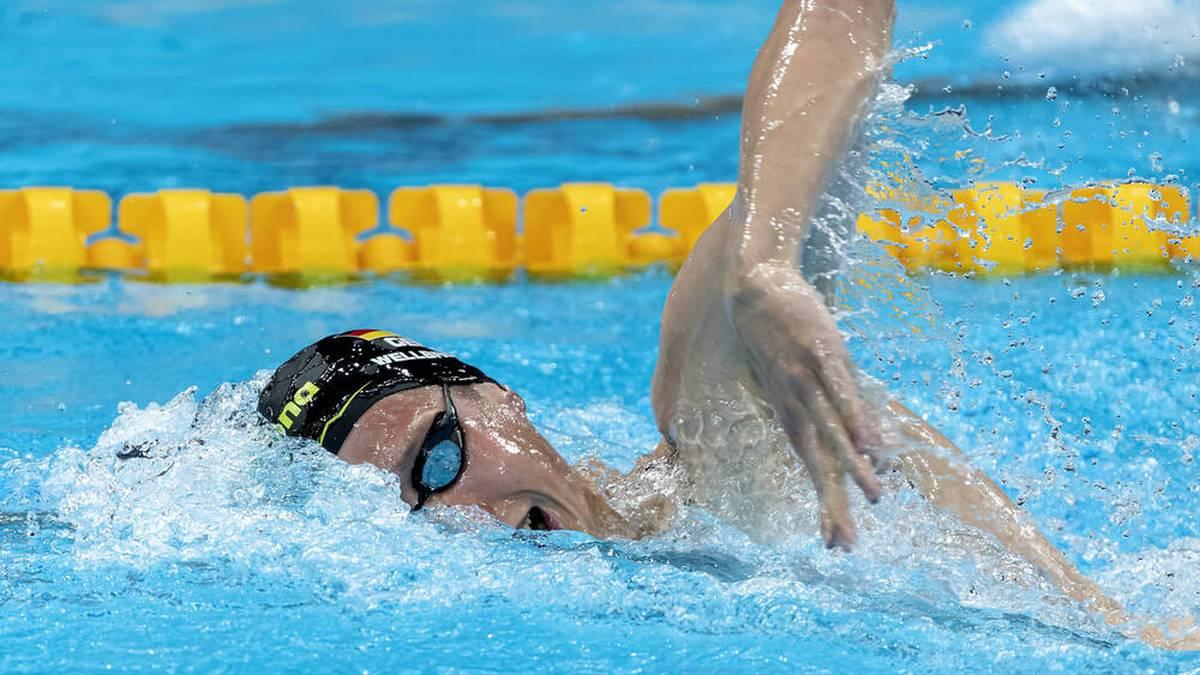 Florian Wellbrock schwamm am Podest vorbei