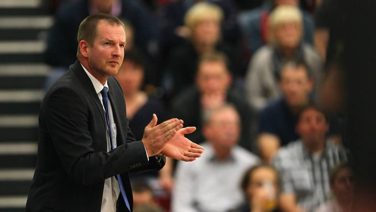 DBB-Coach Henrik Rödl und sein Kader für die WM-Vorbereitung