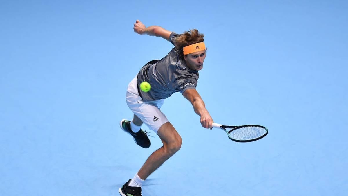 Alexander Zverev ließ Rafael Nadal im ersten Spiel kaum Chancen