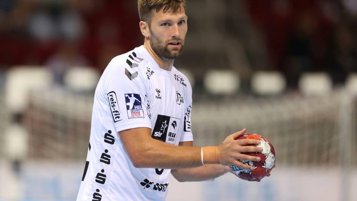 Harald Reinkind wirft drei Tore gegen Montpellier