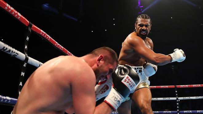 David Haye schlug Arnold Gjergjaj K.o.