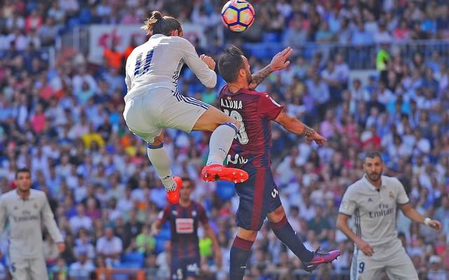 Das Traumtor von Gareth Bale genügte Real Madrid nicht zum Sieg