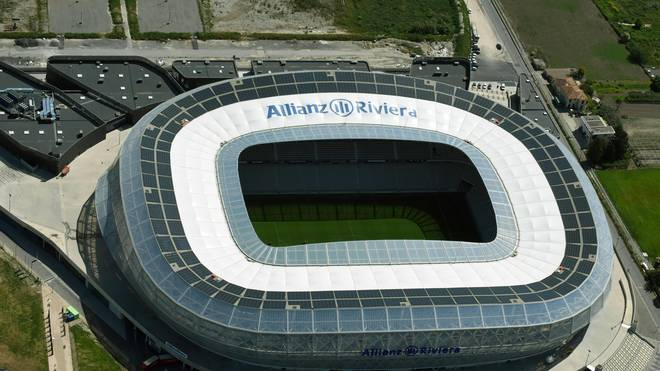Die Allianz Riviera in Nizza