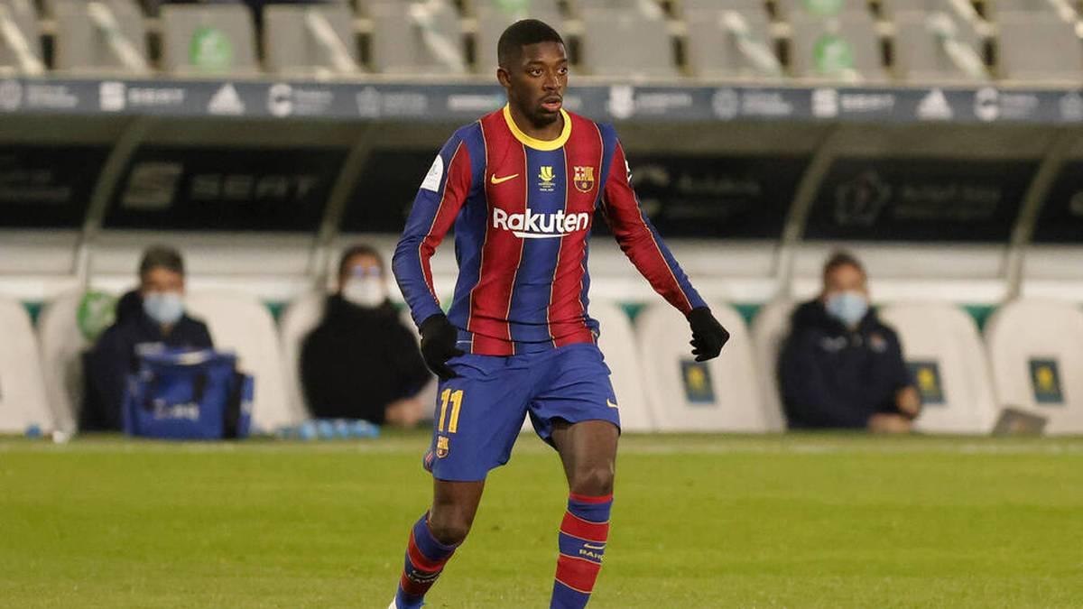 Ousmane Dembele erzielte den Siegtreffer