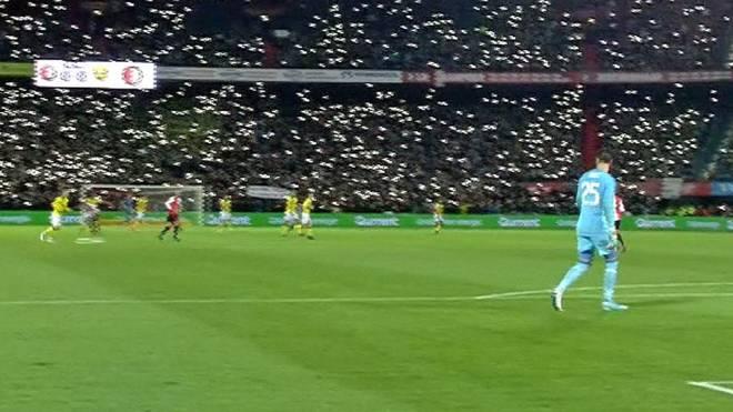 Brad Jones im Spiel mit Feyenoord Rotterdam gegen Venlo