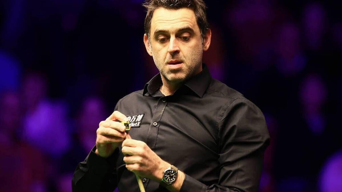 Snooker-Star Ronnie O'Sullivan lästert über die Fans
