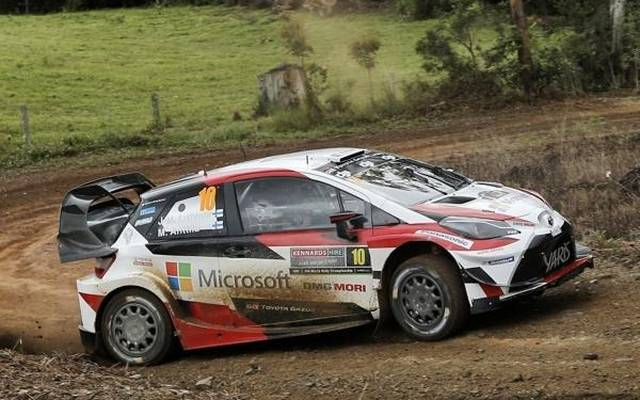 Jari-Matti Latvala flog kurz vor dem Ziel der Rallye Australien ab