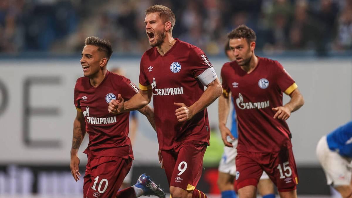 Simon Terodde war auch in Rostock der entscheidende Akteur für Schalke
