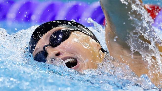 Sarah Köhler hofft über 1500 m Freistil auf eine Medaille