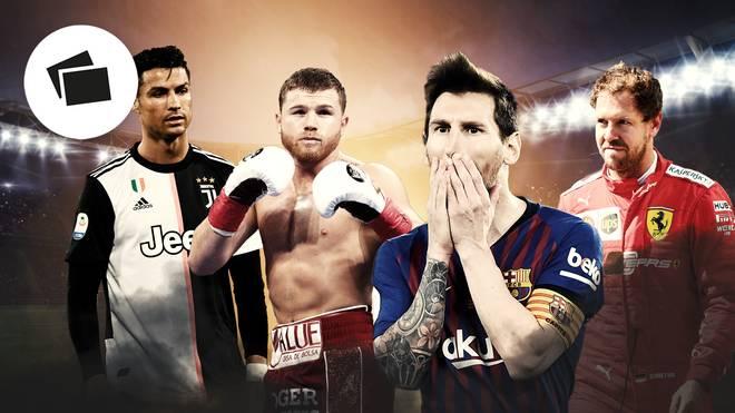 Die bestbezahlten Sportler mit Messi, Ronaldo, Neymar, Rodgers, Hamilton, Federer