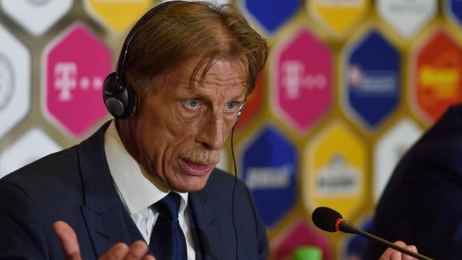 Christoph Daum verpasste mit Rumänien die Qualifikation zur WM in Russland