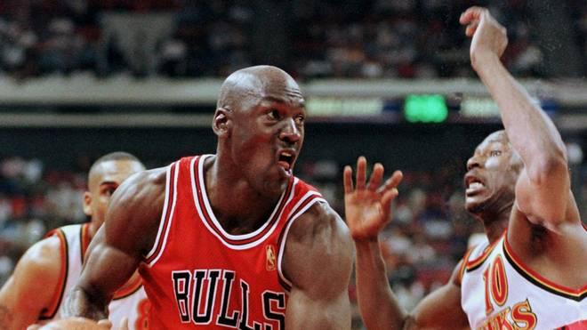 Michael Jordan - die legendäre Nummer 23 der Chicago Bulls