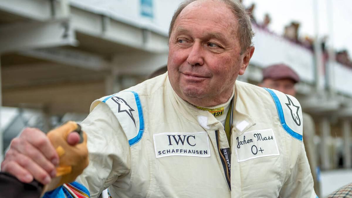 Jochen Mass ist dem Motorsport bis heute verbunden
