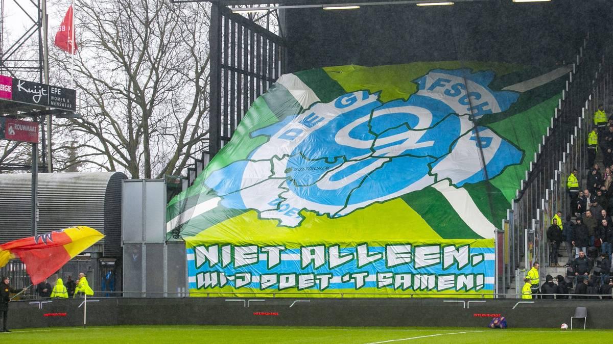 De Graafschap scheiterte mit der Klage auf Aufstieg in die Eredivisie