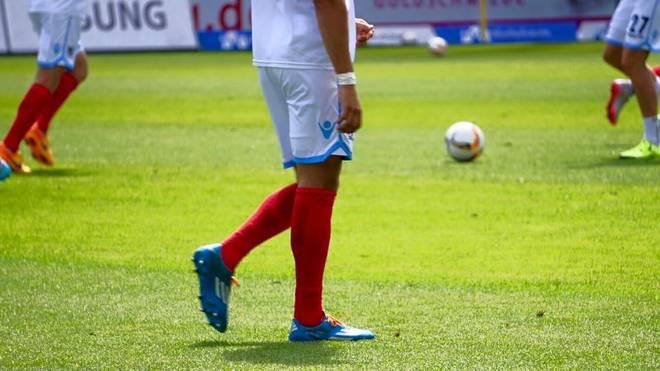 1860 München musste beim 1. FC Heidenheim mit roten Stutzen auflaufen