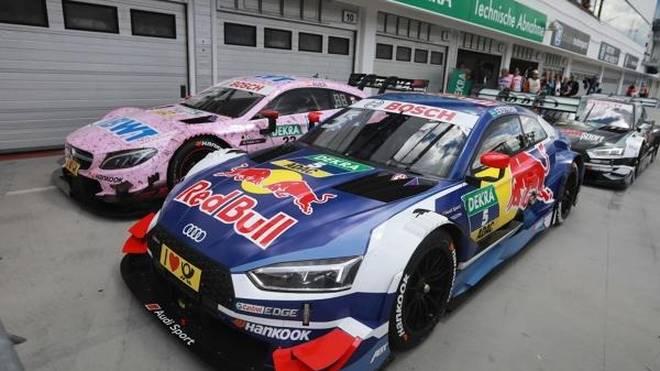 Die wichtigen Sponsoren BWT (li.) und Red Bull (re.) verschwinden von den Autos