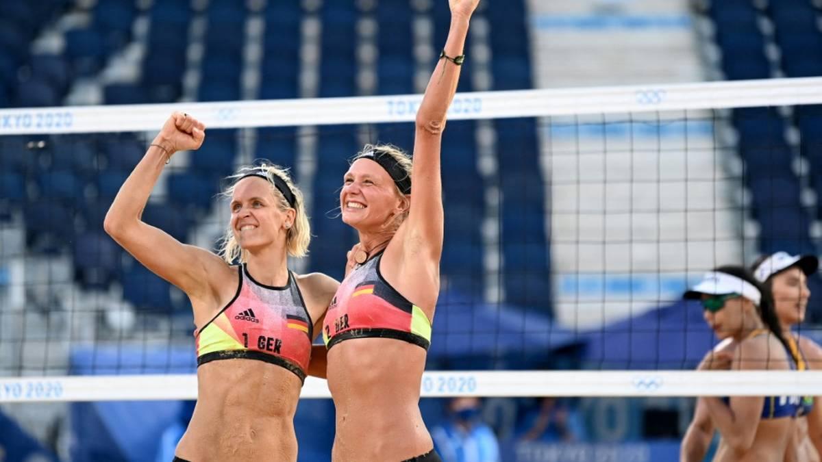 Ludwig/Kozuch treffen auf ein US-Duo im Viertelfinale