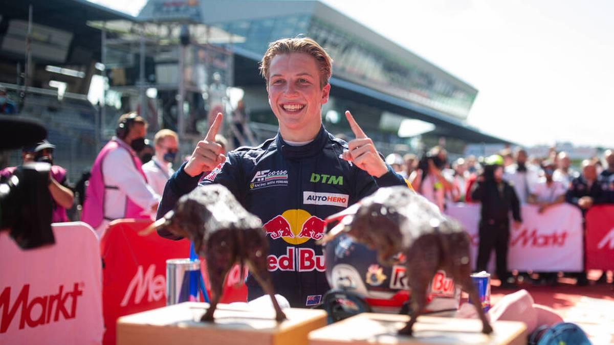 Lawson gewinnt auch das zweite Rennen in Spielberg