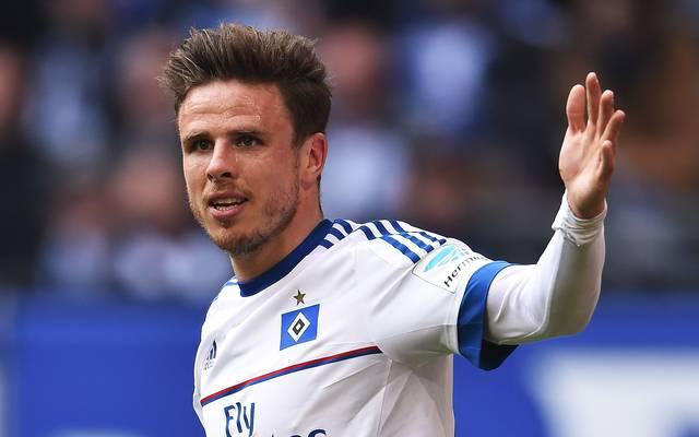 Nicolai Müller fehlt dem Hamburger SV seit seinem Kreuzbandriss am ersten Spieltag