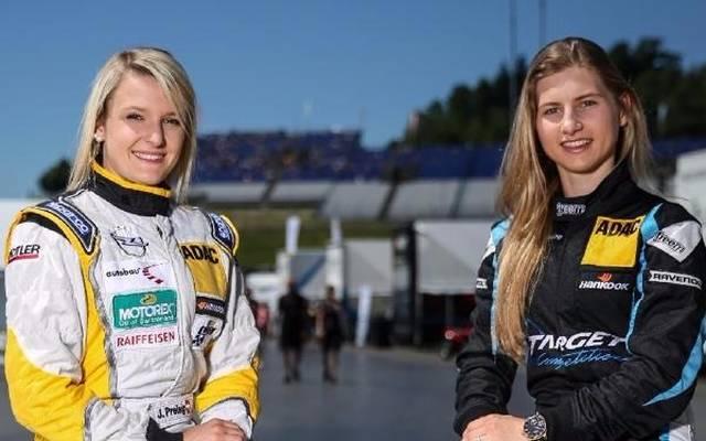 Jasmin Preisig und Gosia Rdest sind die einzigen Damen in der TCR Germany