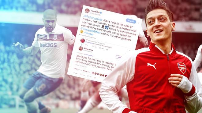 Mesut Özil hat nach Arsenals Sieg gut lachen
