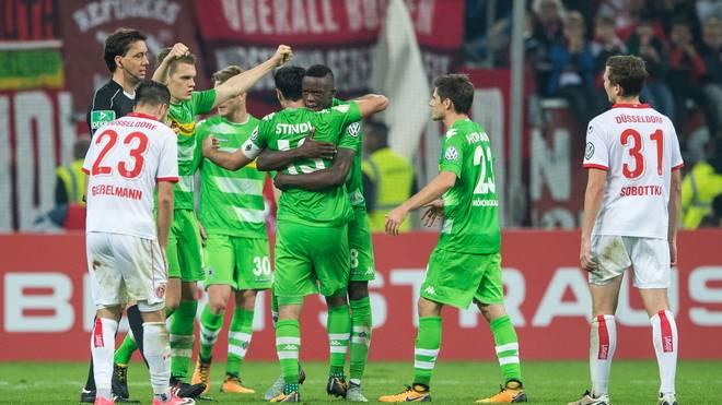 Fortuna Duesseldorf v Borussia Moenchengladbach - DFB Cup