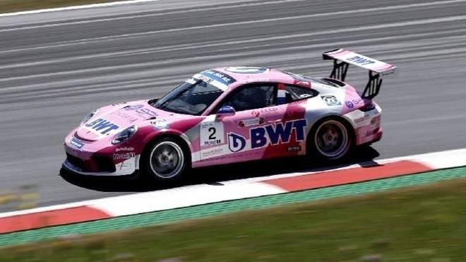 Julien Andlauer will nach seinem Carrera-Cup- auch den Supercup-Sieg in Spielberg